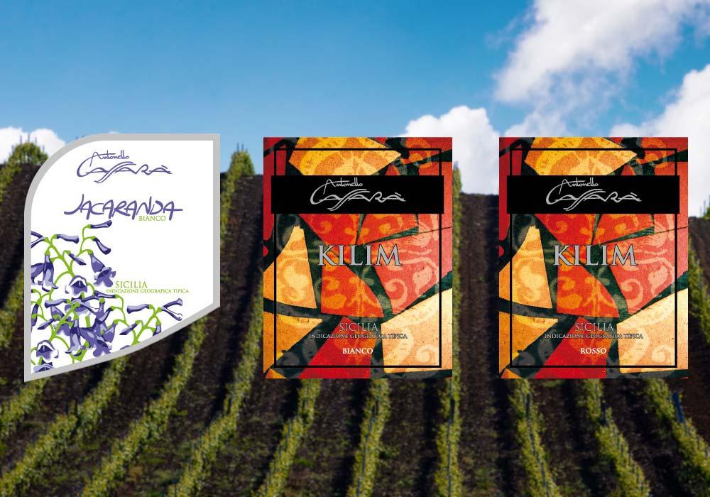 Prijswinnende wijnen van wijnproducent Antonello Cassarà