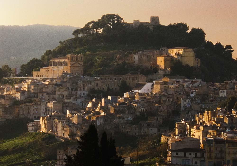 The town of Calatafimi
