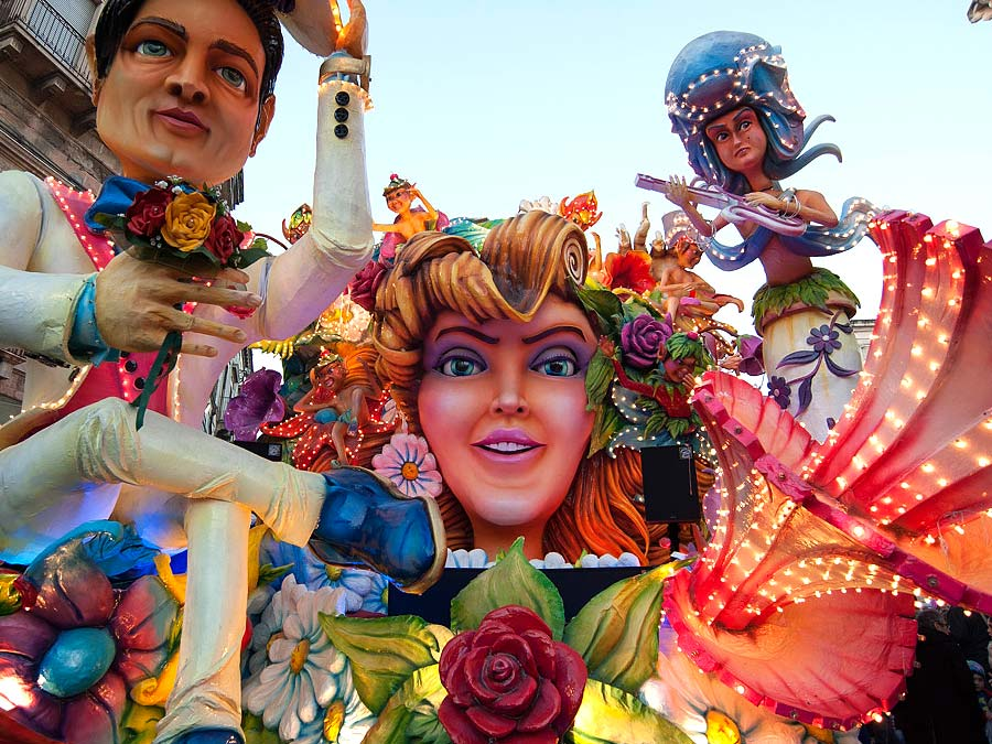 Carnival in Sicily