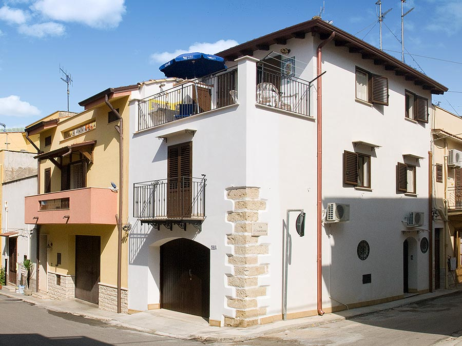 Vakantiewoning Casa il carretto Siciliano in het kustplaatsje Balestrate op Sicilië