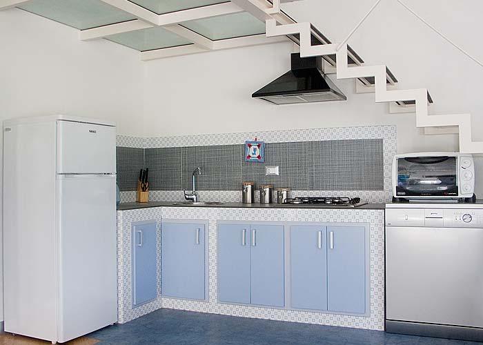 De keuken van Villa Veneziano