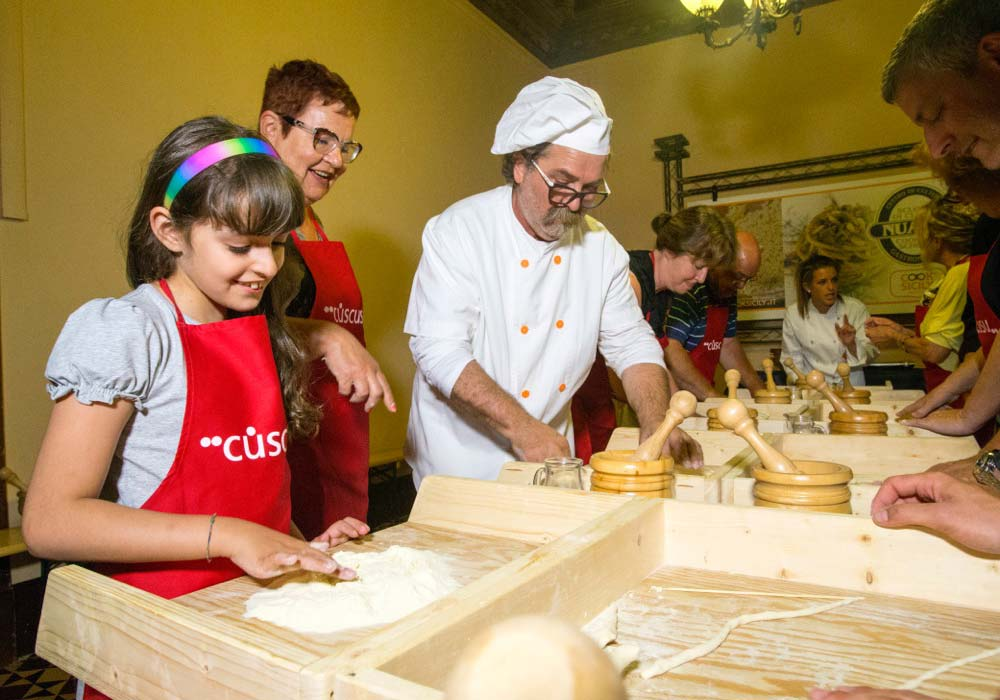 Cooking workshops at Nuara in Trapani