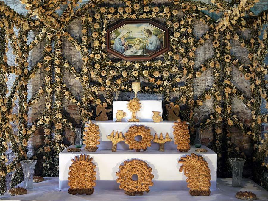 An altare di San Giuseppe