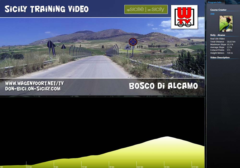 RLV - Ride to the Bosco d'Alcamo on Monte Bonifato