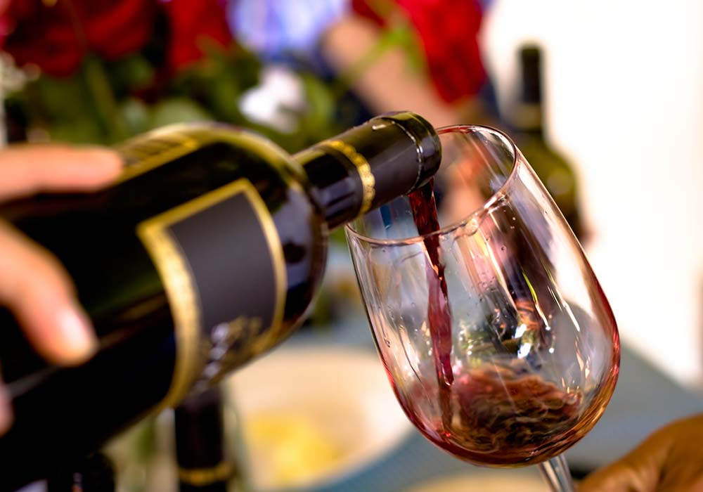 Een wijnproeverij bij Alessandro di Camporeale