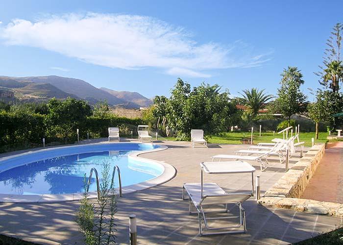 Het zwembad van Villa Veneziano