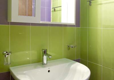 De badkamer van Casa Tannura