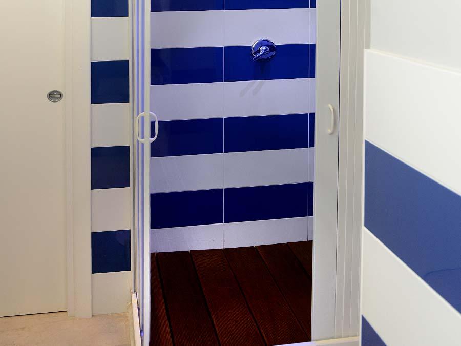 De badkamer van Appartamento Vinigna
