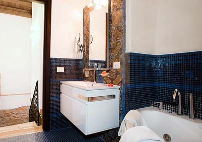 The second bathroom of Appartamento Verdello