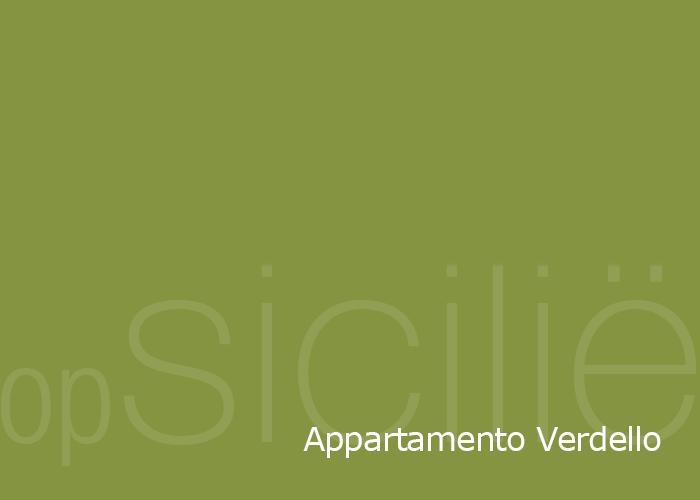opSicilie - Appartamento Verdello in de Borgo delle olive