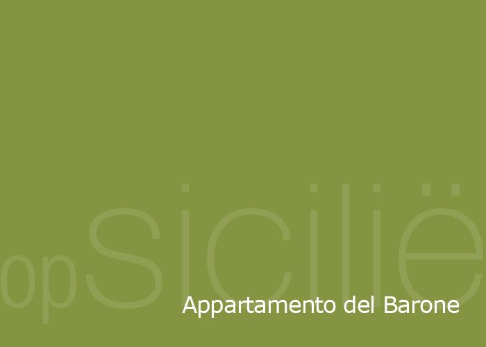 opSicilie - Appartamento del Barone in het Siciliaanse kustplaatsje Balestrate