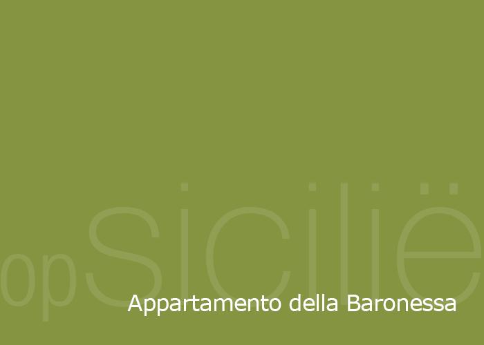 opSicilie - Appartamento della Baronessa in het Siciliaanse kustplaatsje Balestrate