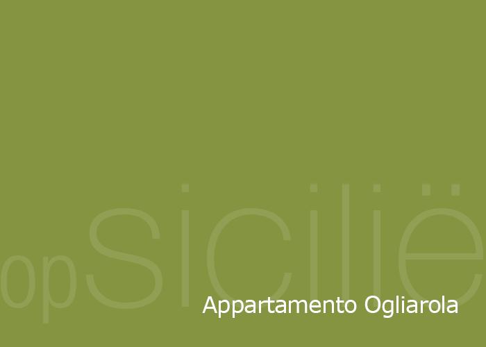 opSicilie - Appartamento Ogliarola in de Borgo delle olive