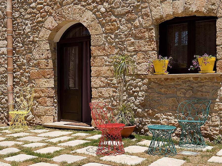 De ingang van Appartamento Cerasuola