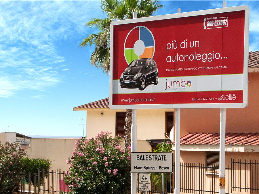 Autoverhuur en transferservice via Jumbo Rent-a-Car in Balestrate