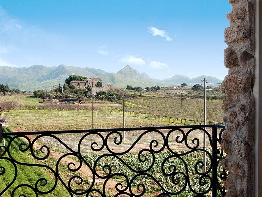 Het platteland in de omgeving van de Borgo delle olive
