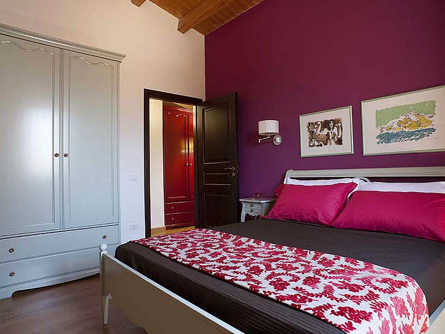 De derde slaapkamer van Appartamento Cerasuola