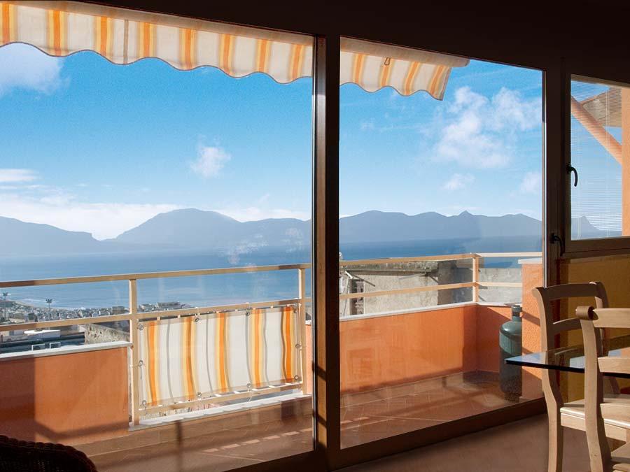 Het uitzicht vanuit Appartamento Mandarino