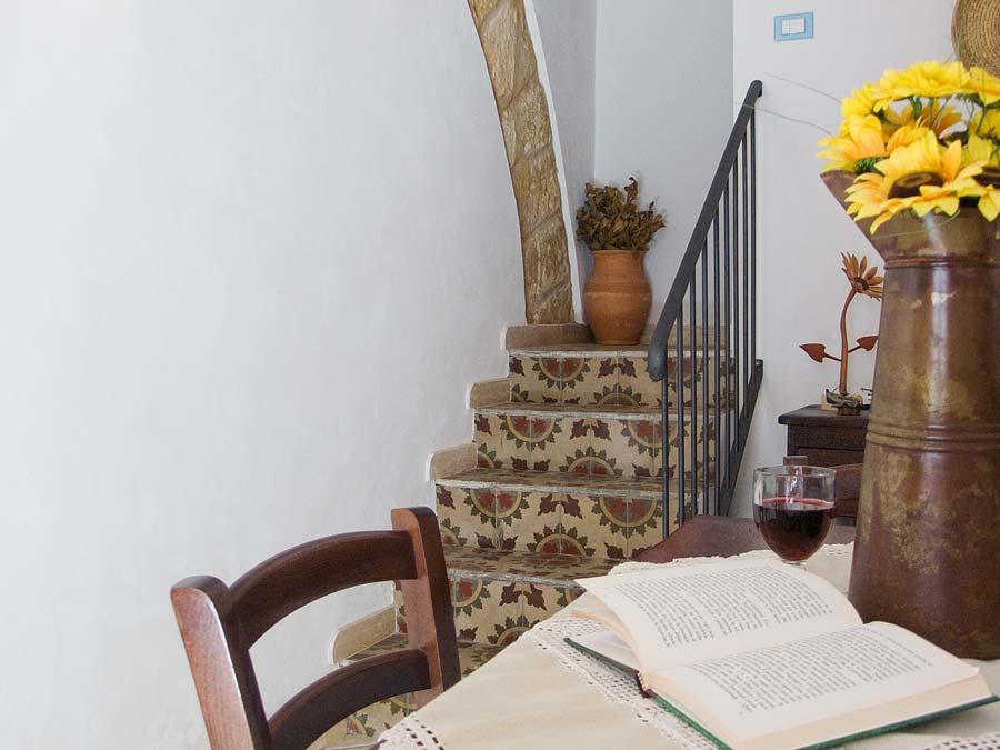 In de woonkeuken van Casa Geraci