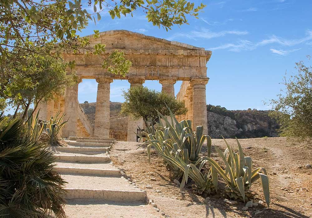 De tempel van Segesta