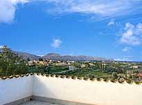 Op de veranda van Casa Giudeo in Balestrate op Sicilië