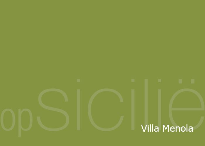 opSicilie - Villa Menola aan zee in Balestrate