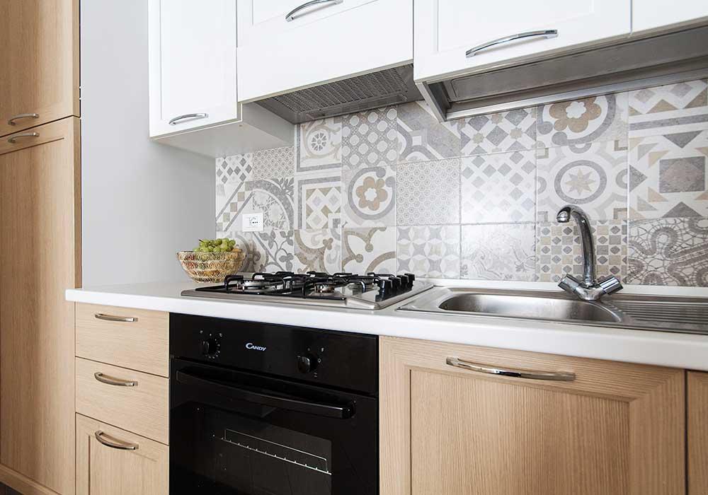 De keuken van Appartamento Barcuni